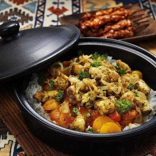 Somalisk biriyani - Marinerad kyckling