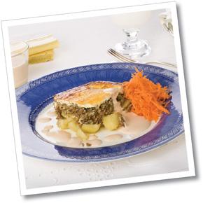 Köttfärsgratäng med potatis
