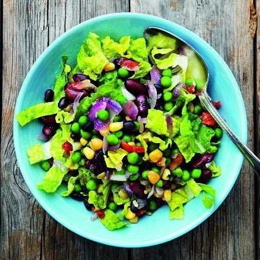 Sweet & Sour Bean Salad