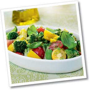 Gul morot & broccoli