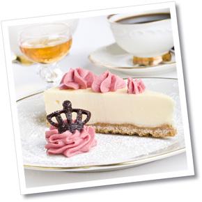 Cheesecake med fruktmousse