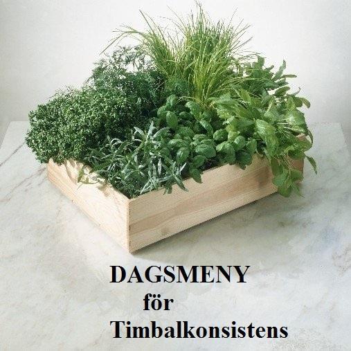 Allmän rekommendation: En bra MATDAG Timbalkonsistens