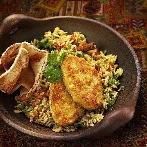 Bariis Udgoon - Aromatiskt ris med selleristick